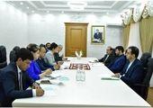 بازدید وزیر تعاون، کار و رفاه اجتماعی از مرکز آموزش فنی و حرفهای تاجیکستان