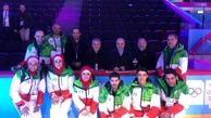 دیدار مسئولین ورزشی ایران با اعضای کاروان اعزامی