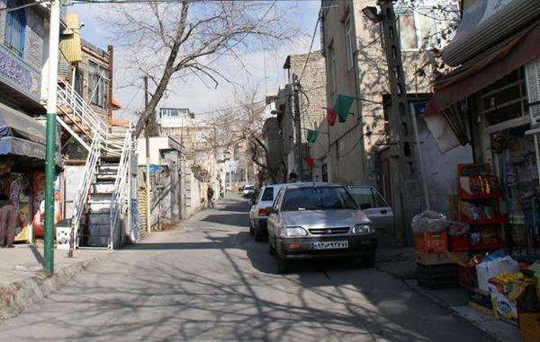 اجرای نگهداشت معابر در بافت های فرسوده  منطقه سه تهران