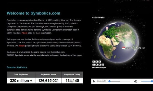 اولین آدرس اینترنتی جهان+عکس