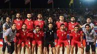 اسامی بازیکنان دعوت شده به تیم ملی فوتبال ساحلی