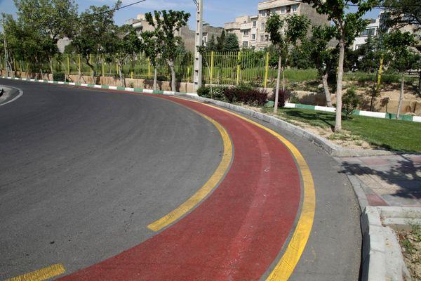 افزایش 150 درصدی مسیر دوچرخه سواری منطقه17 در سال99
