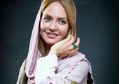 تصویری از مهناز افشار در خارج از کشور