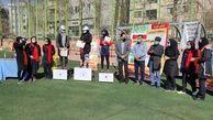 درخشش بانوان قلب طهران در میادین ورزشی