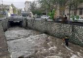 عملیات بازسازی مسیر انحرافی قنات عباس آباد در منطقه سه