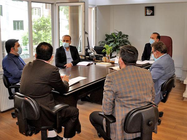برگزاری جلسه کمیته شفافیت مالی شرکت یادمان سازه