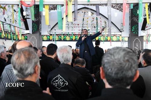 برگزاری آیین عزاداری سید و سالار شهیدان در مقبرة الشهدا نفت