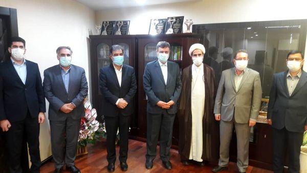 حضور نائب رییس اول مجلس شورای اسلامی در بیمه ایران