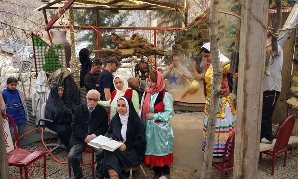 جشنواره سمنو پزی نوروزی