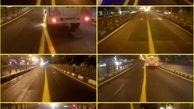 خط کشی ۱۲ هزار متر از خط ویژه اتوبوسرانی در خیابان انقلاب