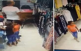 شگرد دو دختربچه که برای سرقت از آقای رئیس خط میگیرند! + عکس