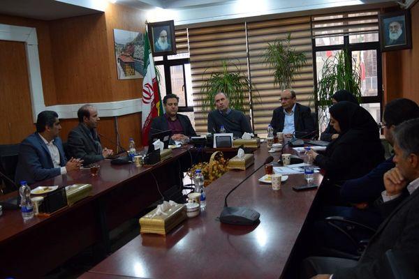 جلسه بررسی طرح ژینایی اکوسیستم رود دره فرحزاد