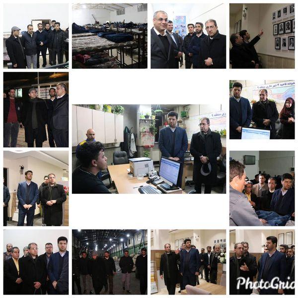 بازدید رئیس حراست کل شهرداری تهران از منطقه۹
