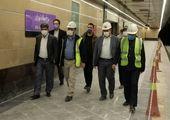 مناسب سازی ایستگاه های مترو منطقه 2 برای افراد کم توان