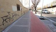 پیشرفت طرح بهسازی معابر پیاده رو و احداث مسیرهای دوچرخه(بهراه) به 175 کیلومتر رسید