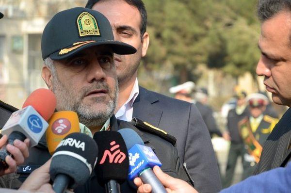 کاهش سرقت و شرارت در تهران