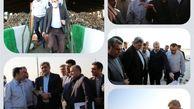 حضور شهردار تهران در مجتمع پردازش و دفع آرادکوه