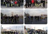 همایش دوچرخه سواری با حضور مدیران شهری منطقه2 و شهرداران مدارس