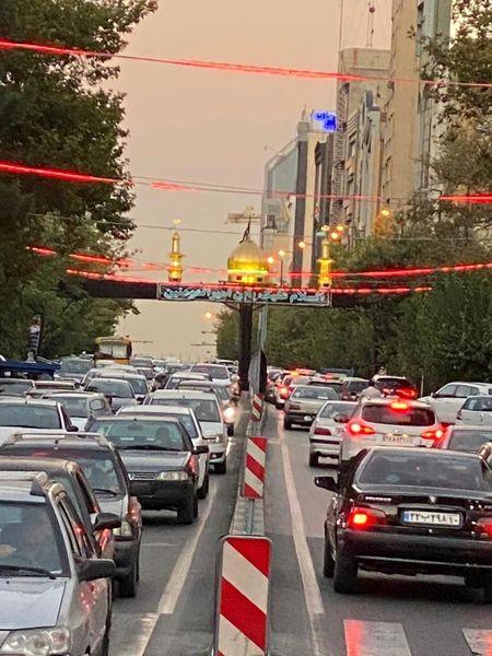 اجرای عملیات شبیه سازی بین الحرمین کربلای معلی در خیابان ملاصدرا