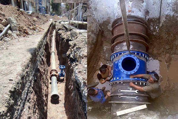 حفر و بهسازی 11 حلقه چاه به منظور عبور از تنش آبی
