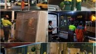 پاکسازی معابر و دیوارهای شهری از تبلیغات انتخاباتی