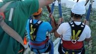 تجربه هیجان در بزرگترین پل معلق کشوربا افتتاح بانچی جامپینگ