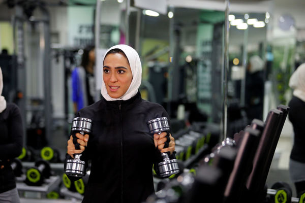 بدنسازی زنان در عربستان سعودی+عکس