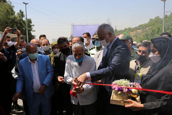 واکسیناسیون خودرویی روزانه 500 نفر در باغ پرندگان تهران