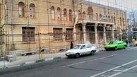 مرمت بنای تاریخی مهمانسرای دانشگاه امام علی (ع) درحصار ناصری به پایان رسید