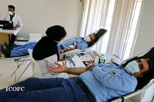 کارکنان منطقه عملیاتی آغار و دالان ۶۸ هزارسی سی خون اهدا نمودند