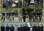 ایمن سازی 11 کیلومتر مسیر دوچرخه سواری منطقه 15