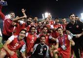 پوشش جالب هوادار ایرانی در ورزشگاه دوحه + عکس