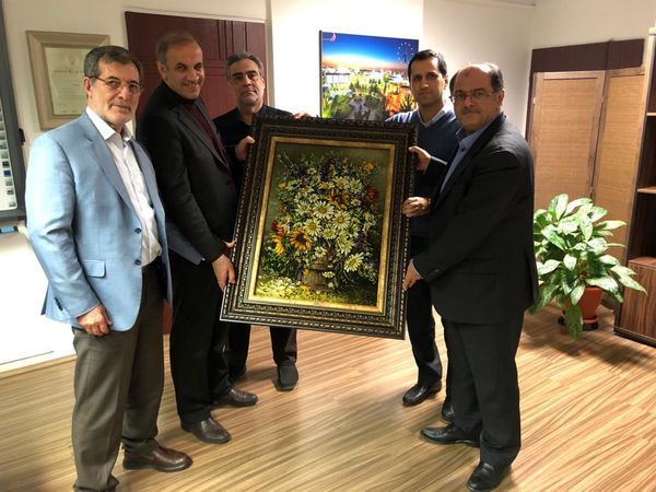 تقدیر مدیران انجمن پالایشگاههای روغن سازی ایران از عملکرد موفق مهندس اسحاقی