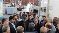 بازدید معاون مدیرعامل شرکت ملی نفت ایران از کارگاه تعمیرات توربین در آغاجاری