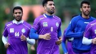 بازگشت دو بازیکن مصدوم به تمرینات استقلال