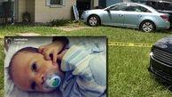 گرمای شدید، نوزاد رها شده در خودرو را به کشتن داد +عکس