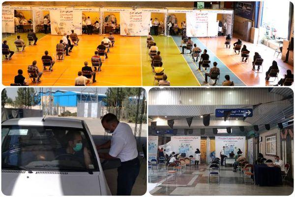 آغاز واکسیناسیون خودرویی و ثابت در ایستگاه های منتخب متروی تهران