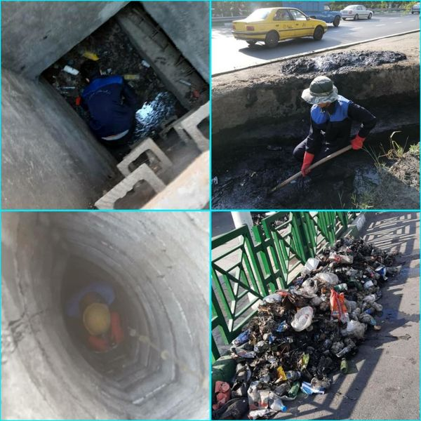 شهرداری منطقه۶ در تکاپوی لایروبی حوضچهها و انهار