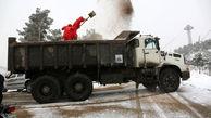 آماده باش 10  سایت  برف روبی  در شمال شرق پایتخت