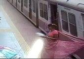 لحظه وحشتناک قطع شدن پای مسافر در ایستگاه قطار+ فیلم