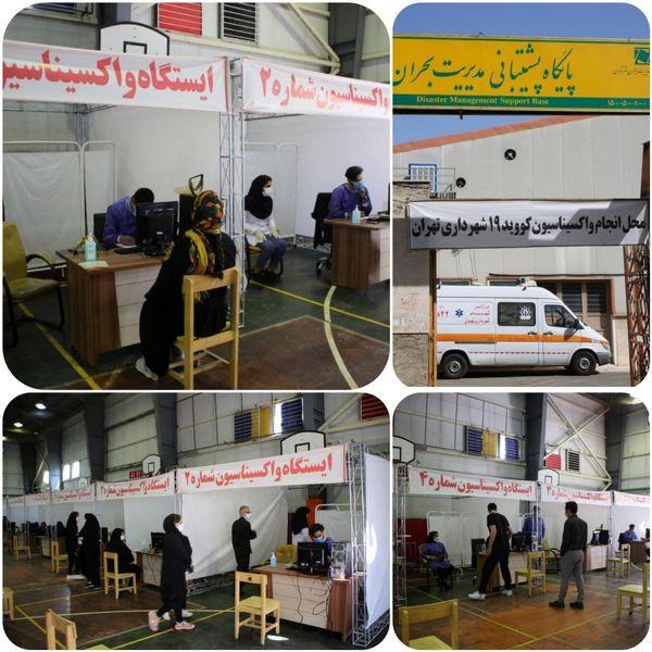 روند مطلوب واکسیناسیون در مرکز فجر شهرداری منطقه ۱۵