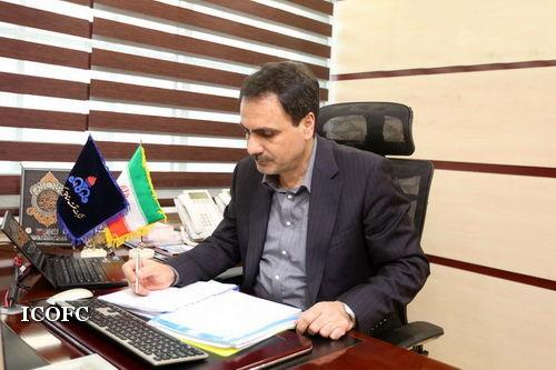 پیام تبریک مدیر عامل شرکت نفت مناطق مرکزی ایران بمناسبت فرا رسیدن هفته دفاع مقدس