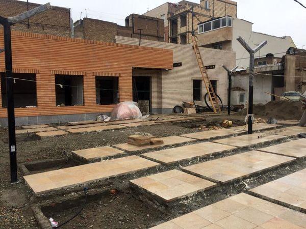ساخت سومین مرکز محله در بافت فرسوده منطقه 15