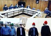 آئین کلنگ زنی ساخت پروژه احداث تصفیه خانه پساب پتروشیمی کارون انجام شد