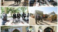 ادای احترام سرپرست جدید شهرداری منطقه 15 به شهدا