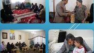 دیدار با 113خانواده معظم شهید و جانباز منطقه15