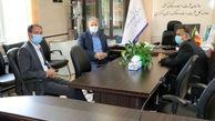 بازدید سر پرست مخابرات منطقه مرکزی از اداره کل ثبت اسناد واملاک استان