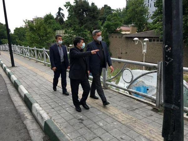 شهردار تهران از پروژه های شهری آماده افتتاح منطقه یک بازدید کرد