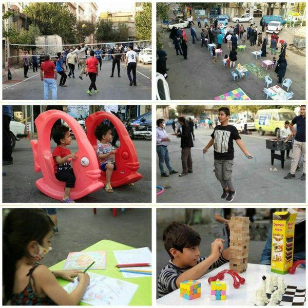 برپایی خیابان ورزش در منطقه ۱۰ پایتخت