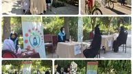  آموزش زنان منطقه 15 در مقابله با شیوع کرونا در بین اعضای خانواده